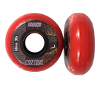 GROUNDCONTROL EarthCity Wheel Red 60mm/90A 4-Pack