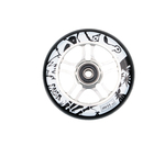 AO SCOOTERS Enzo 2 Wheel Silver 100mm incl. TITEN ABEC 9 Bearings