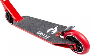 CHILLI 5000 Stuntscooter Black/Red