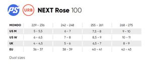 POWERSLIDE Next 100 Rose