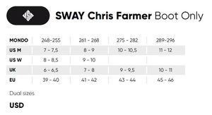 USD Sway Farmer Pro BootOnly