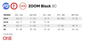 POWERSLIDE Zoom 80 Black