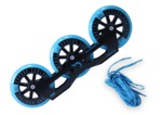 GROUNDCONTROL Tri-Skate 110mm UFS Frame-Pack V3 Black/Blue