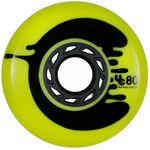 UNDERCOVER Cosmic Roche Wheel yellow 80mm/86A 4-Pack