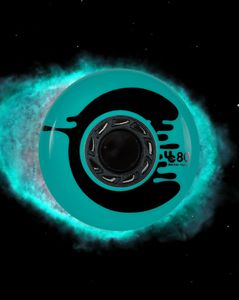 UNDERCOVER Cosmic Roche Wheel teal 80mm/88A 4-Pack