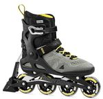 ROLLERBLADE Macroblade 80 ABT silver/neon yellow