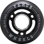 FAMUS Fast Wheel Black 60mm/88A 4-Pack